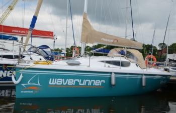MAXUS 28, czartery na Mazurach,Jacht Mazury